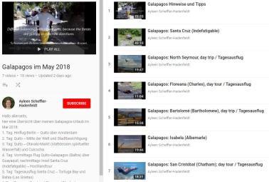 Galapagos-Videos