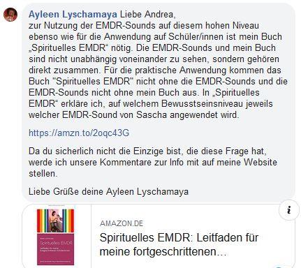 Zeitenwende mit Ayleen Lyschamaya: Spirituelles EMDR und EMDR-Musik auf dem Bewusstseinsniveau des neuen Zeitalters.
