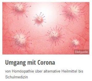 Umgang mit Corona / Covid-19