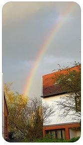 Regenbogen des neuen Zeitalters