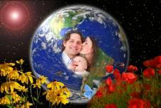 Heile innere Familie für eine neue Erde