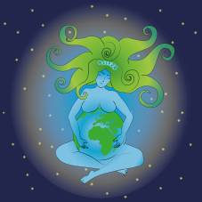 Mutter Erde im neuen Zeitalter
